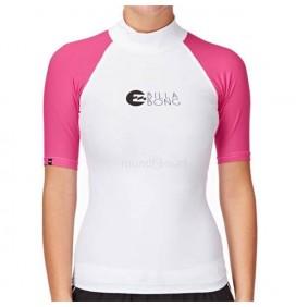 Lycra de surf Chica Billabong Logo In