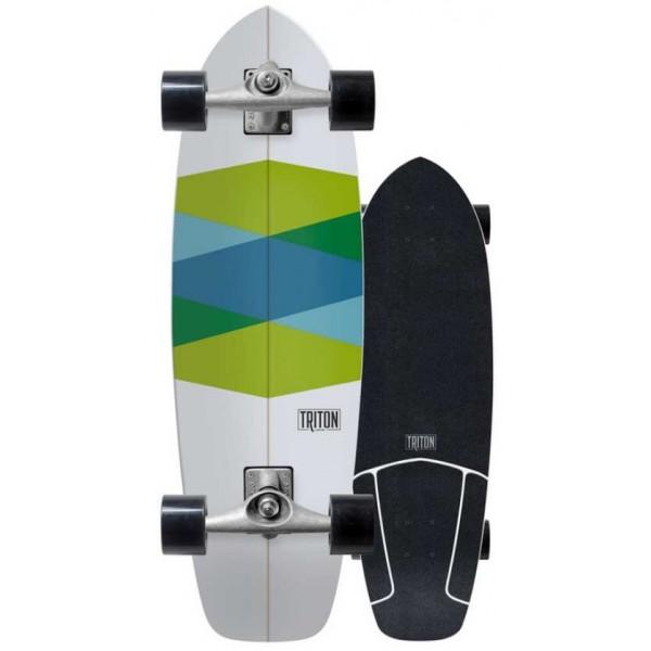 Imagén: Planche de surfskate Triton Green Glass Cx 32,5