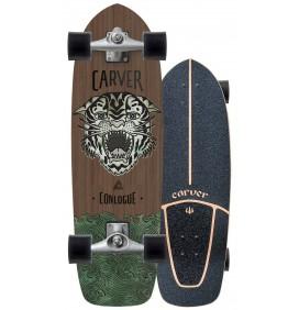 Tabla de surfskate Carver Conlogue Sea tiger 29,5'' Cx