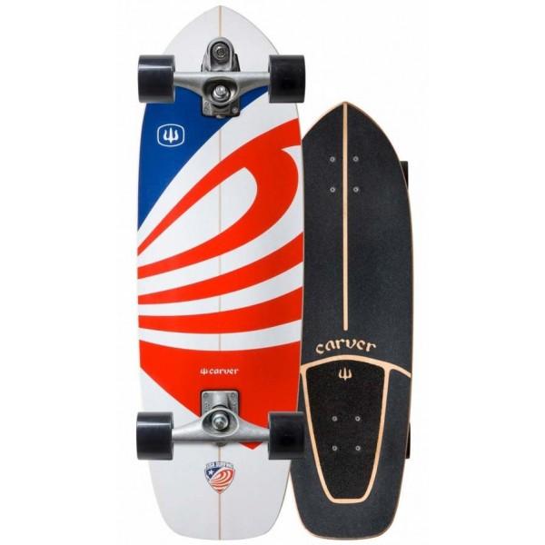 Imagén: Planche de surfskate Carver USA Booster 30,75