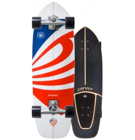 Planche de surfskate Carver USA Booster 30,75'' Cx