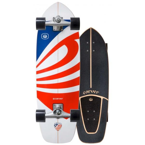 Imagén: Prancha de surfskate Carver USA Booster 30,75