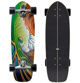 Prancha de surfskate Carver Greenroom 33,75'' C7