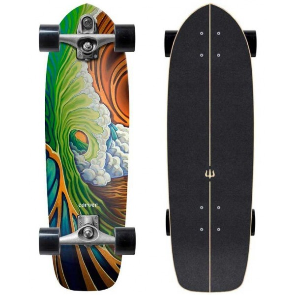 Imagén: Prancha de surfskate Carver Greenroom 33,75
