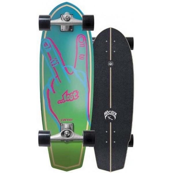Imagén: surfskate Carver Plank 31