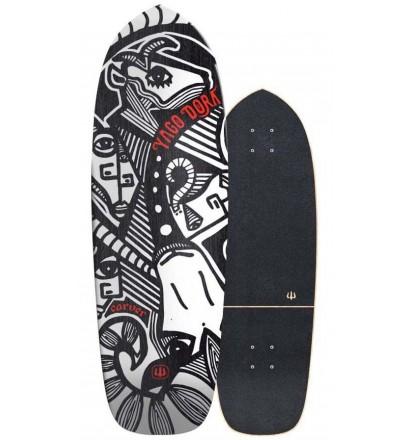 surfskate Carver Yago Skinny Goat 30,75''