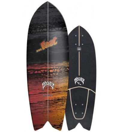 Prancha de surfskate Carver Lost Psycho Killer 28''