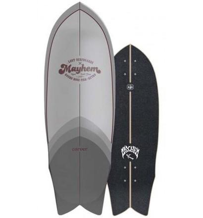 Prancha de surfskate Carver Lost RNF Retro 29,5''