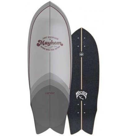 Tabla de surfskate Carver Lost RNF Retro 29,5''