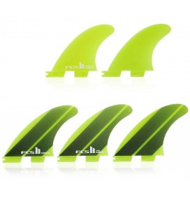FCSII Carver Neo Glass tri-quad fins
