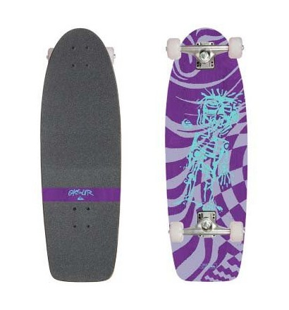 Skateboard cruiser Quiksilver Crusoe