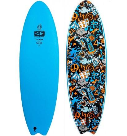 Prancha de surf softboard Ocean & Earth EZI-Rider Fish Hippy Skull (EM ESTOQUE)