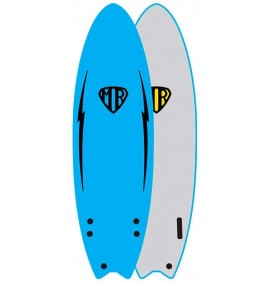 Tavola da surf softboard Ocean & Earth MR Twin Fin