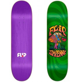 Skateboard Flip Loveshroom Green 8,25''