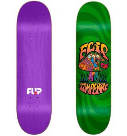 Skateboard Flip Loveshroom Green 8,25''