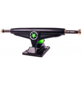 skateboard Truck Iron Black 5'' High