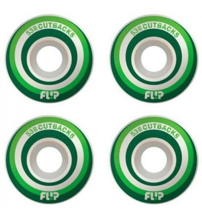 skateboard wheels Flip Cutback 53mm