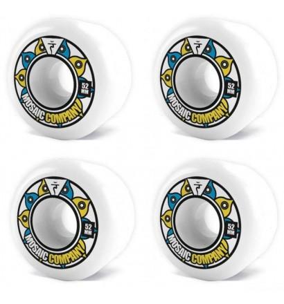Rodas de skateboard Mosaic Energy 52mm