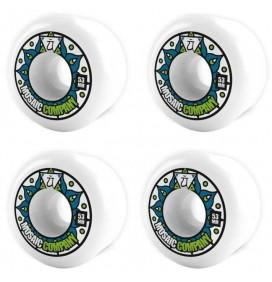Ruedas de skateboard Mosaic Energy 53mm