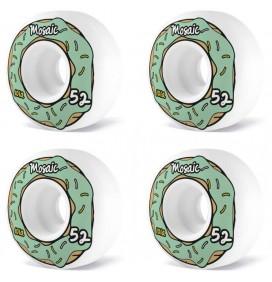 Ruedas de skateboard Mosaic Donut 52mm