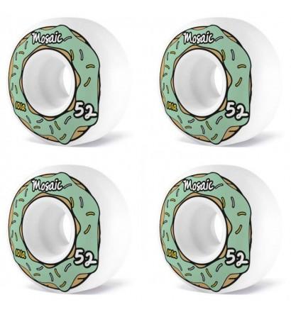 Ruote da skateboard Mosaic Donut 52mm