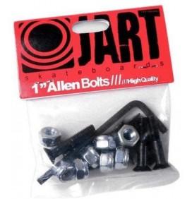 Mounting bolts for skateboard truck Jart 1''