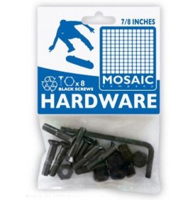 Mounting bolts for skateboard truck Mosaic 7/8''