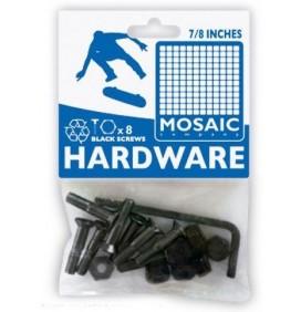 Tornillos de fijación para ejes de skateboard Mosaic 7/8''