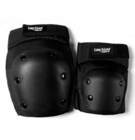 Set de protecciones codos + rodillas Long Island
