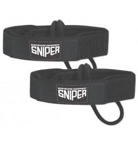 Leash de Pé de pato de bodyboard Sniper deluxe fin tethers