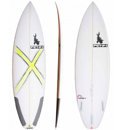 Tavola da surf shortboard SOUL RPMX