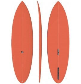 Prancha de surf EMERY Retro Bay Single Fin