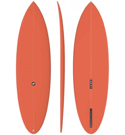 Tabla de surf EMERY Retro Bay Single Fin