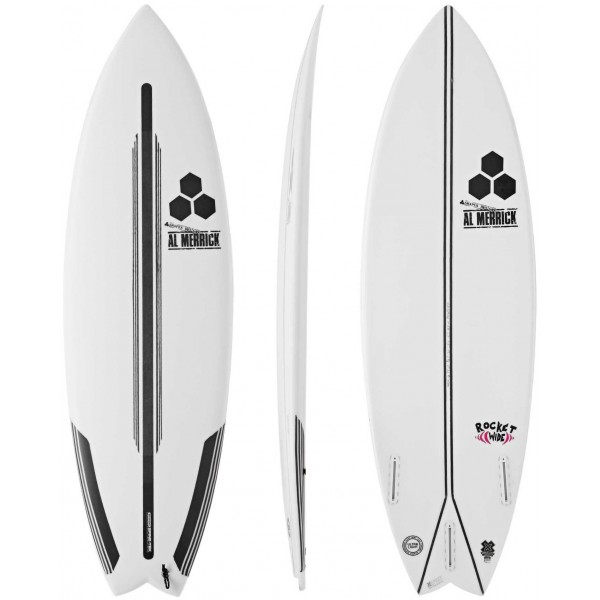 Imagén: Tabla de surf Channel Island Rocket Wide Spine-Tek