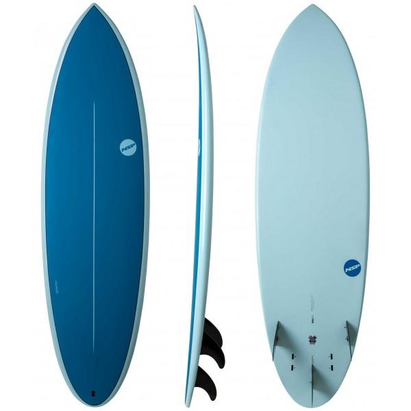 Imagén: Prancha de surf NSP Hybrid Element