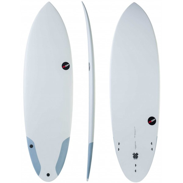 Imagén: Prancha de surf NSP Hybrid Protech