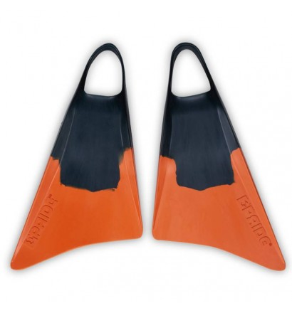 Bodyboard Fins Pride Vulcan V1 Green/Orange