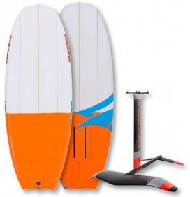 Pack de surf foil Naish Hover Ascend + Hidrofoil Naish L QR