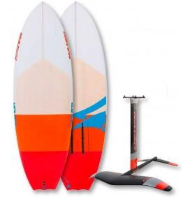 Planche de surf foil Naish Hover Comet PU + Hidrofoil Naish L QR