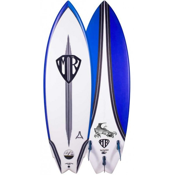 Imagén: surfboard Lost California twin Carbon Wrap