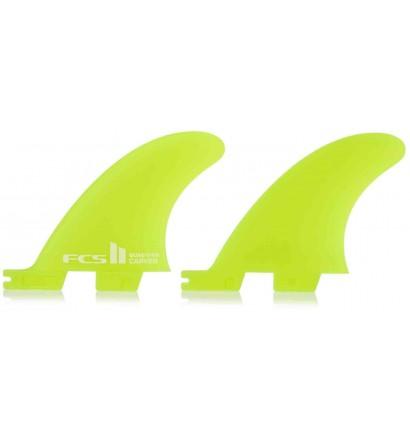 Quilhas surf FCSII Carver Quad Rear Side Byte