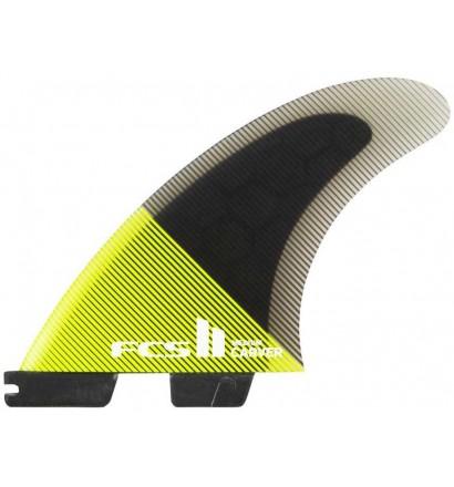 Ailerons de surf FCS II Carver PC