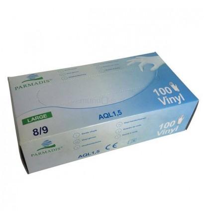 Box of 100 Vinyl gloves