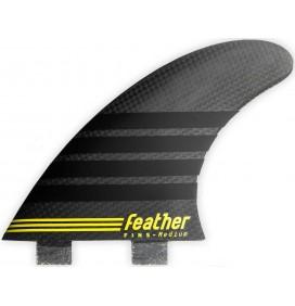 Ailerons de surf Feather Fins C-1 Full Carbon