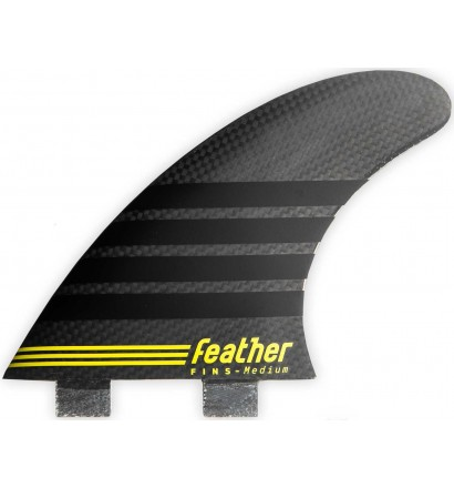 Quilhas surf Feather Fins C-1 Full Carbon