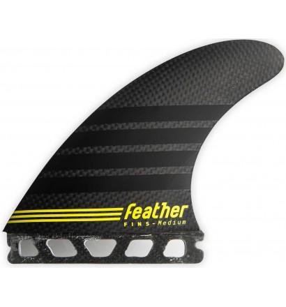 Quilhas surf Feather Fins C-1 Full Carbon Single Tab