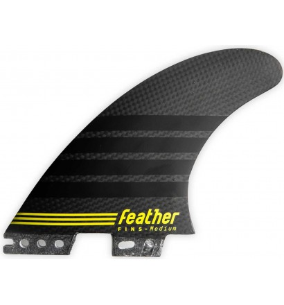 Quillas Feather Fins C-1 Full Carbon Click Tab