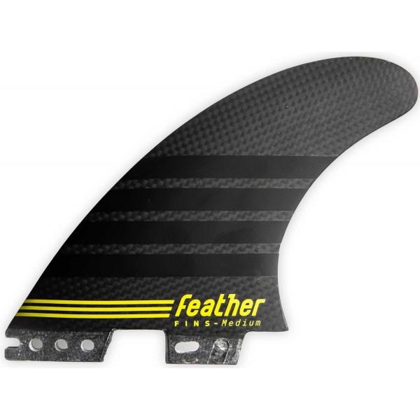 Imagén: Quilhas surf Feather Fins C-1 Full Carbon Click Tab