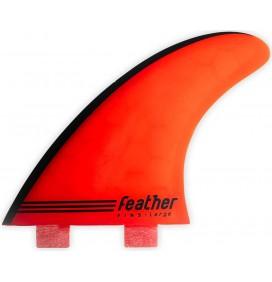 Dérive de surf Feather Fins Gony Zubizarreta Red Core