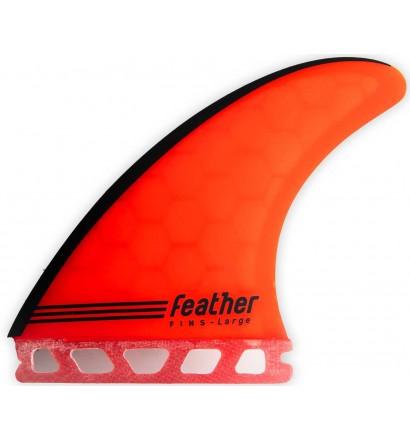 Vinne  Feather Fins Gony Zubizarreta Red Core Single Tab